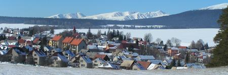 Mengusovce, het dorp